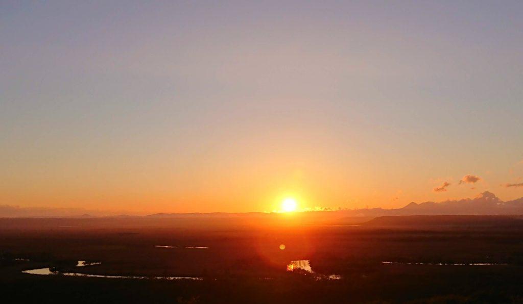 kushiro-wetland-observatory-sunset