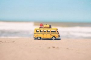 small-miniture-yellow-van